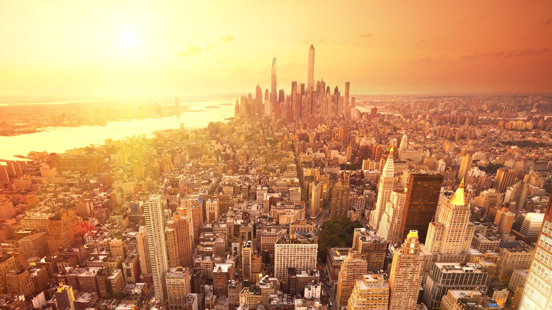 new york city skyscraper house manhattan android wallpapers for free