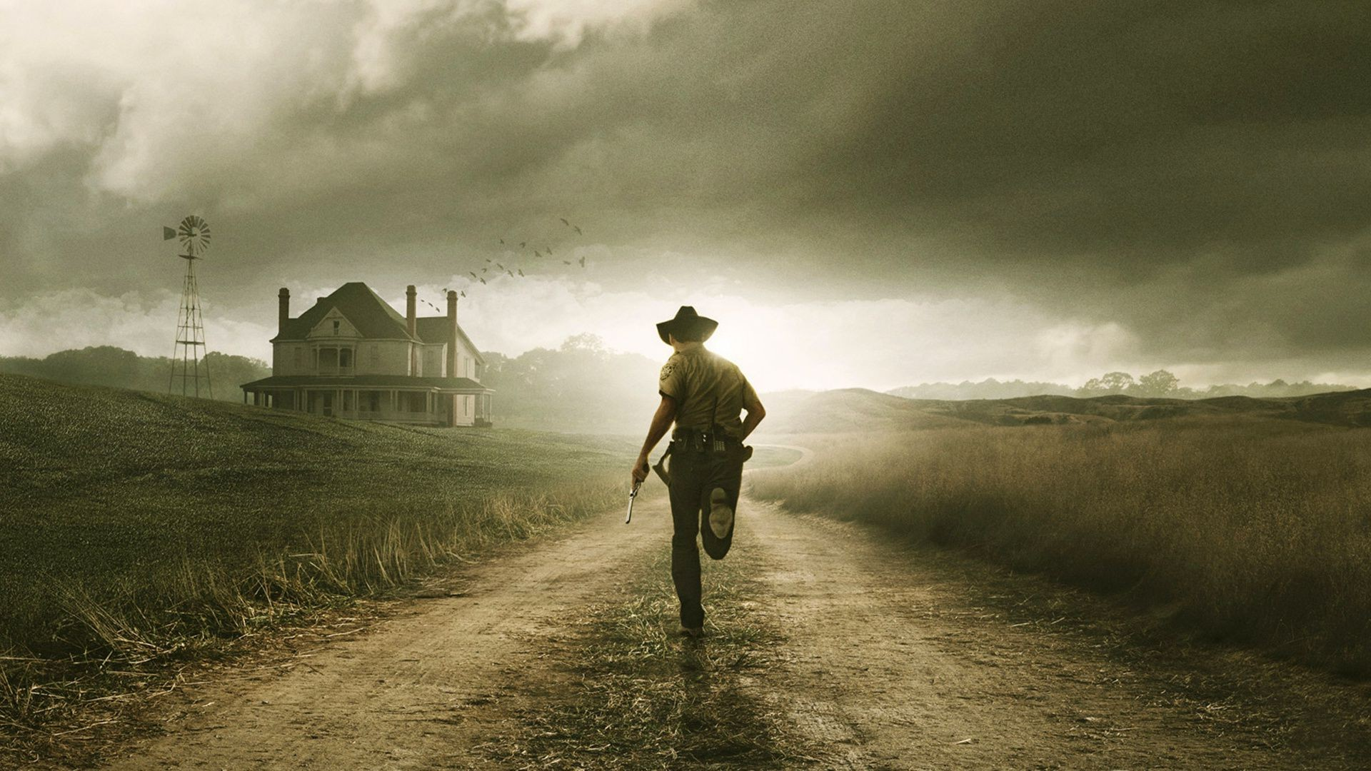 The Walking Dead Tv Series Rick Grimes Phone Wallpapers