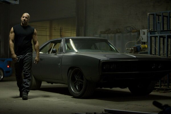 fast five dodge black 1970 charger car vin diesel mus