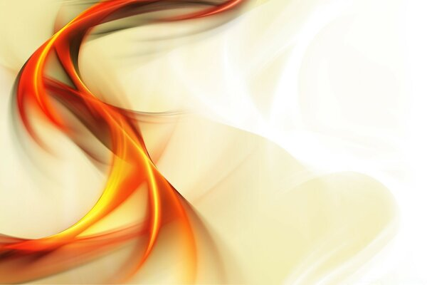 Abstract Colour Background Orange