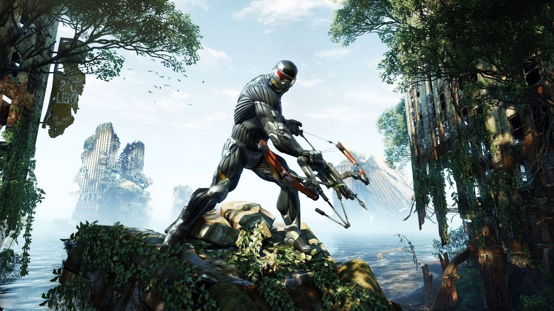 bow Crysis 3 suit Apocalypse