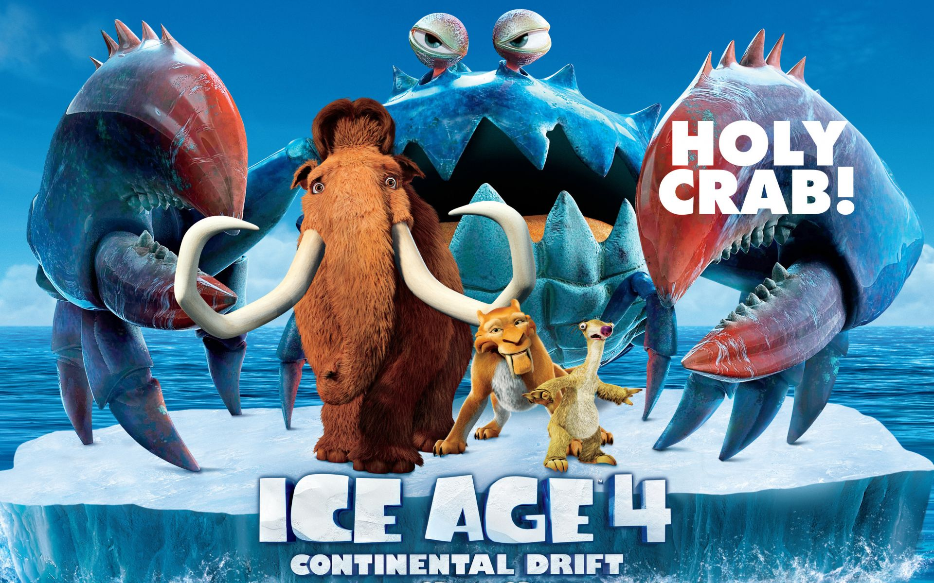 ice age 4 ice age 4 gang floe characters