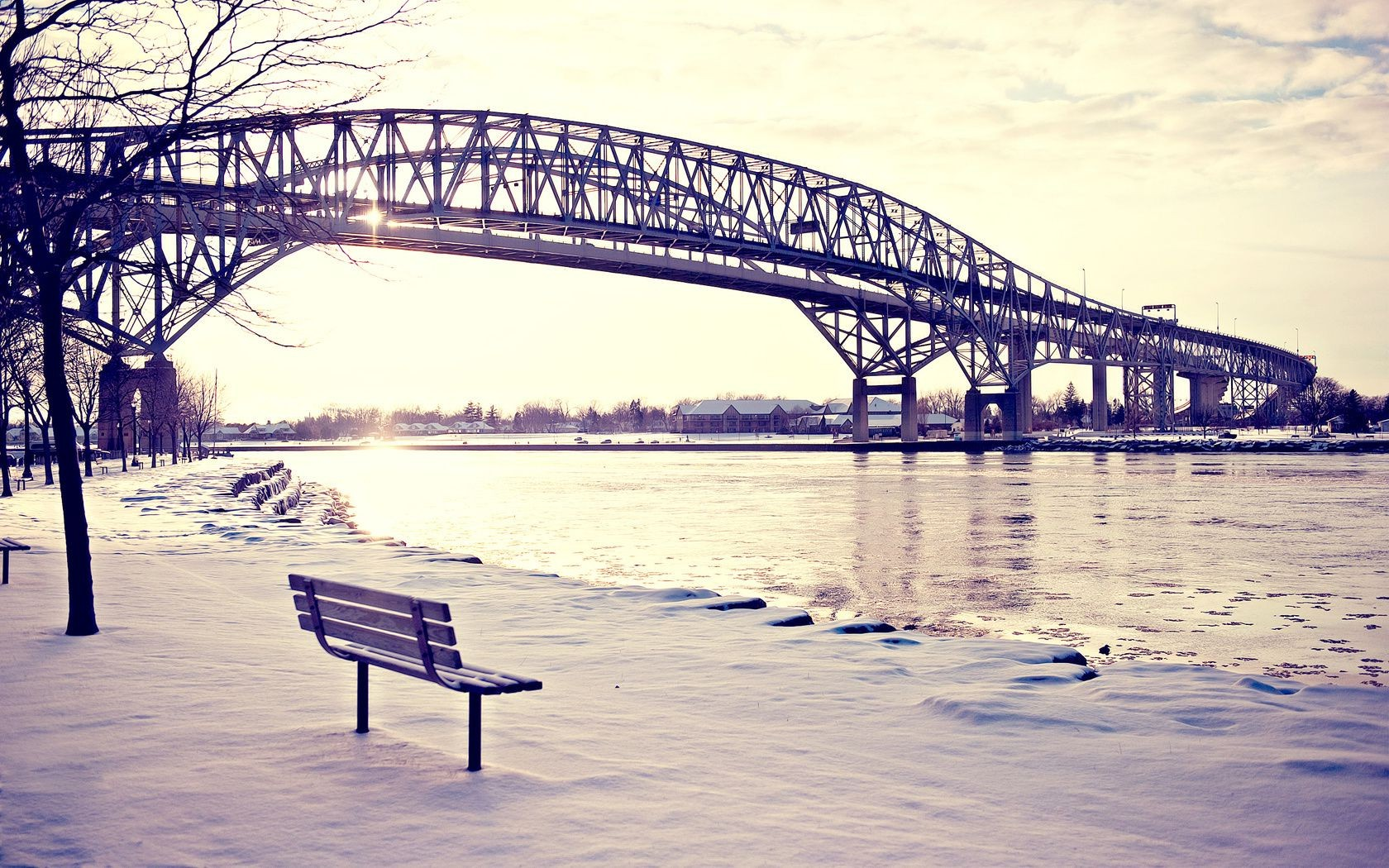 bridges bridge water travel sea beach ocean sky river pier sunset dawn landscape outdoors winter