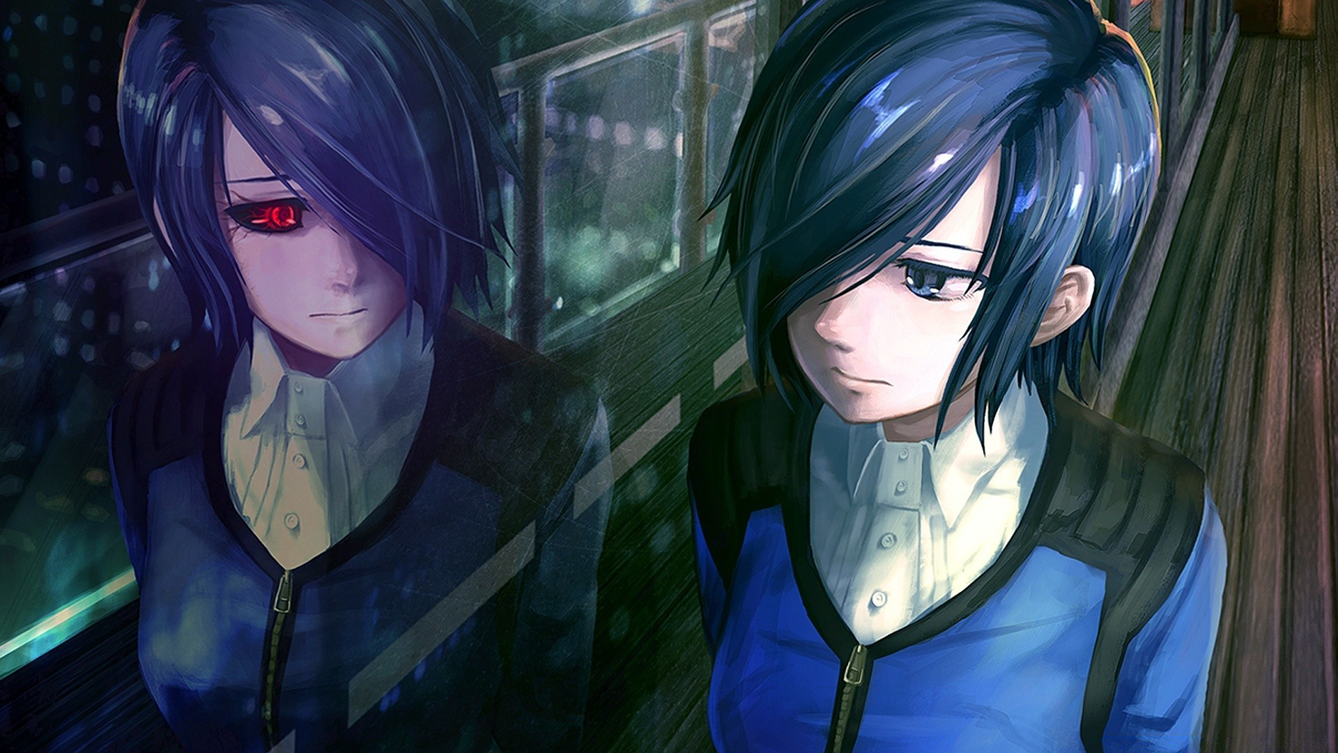 Tokyo Ghoul Touka Android Wallpapers