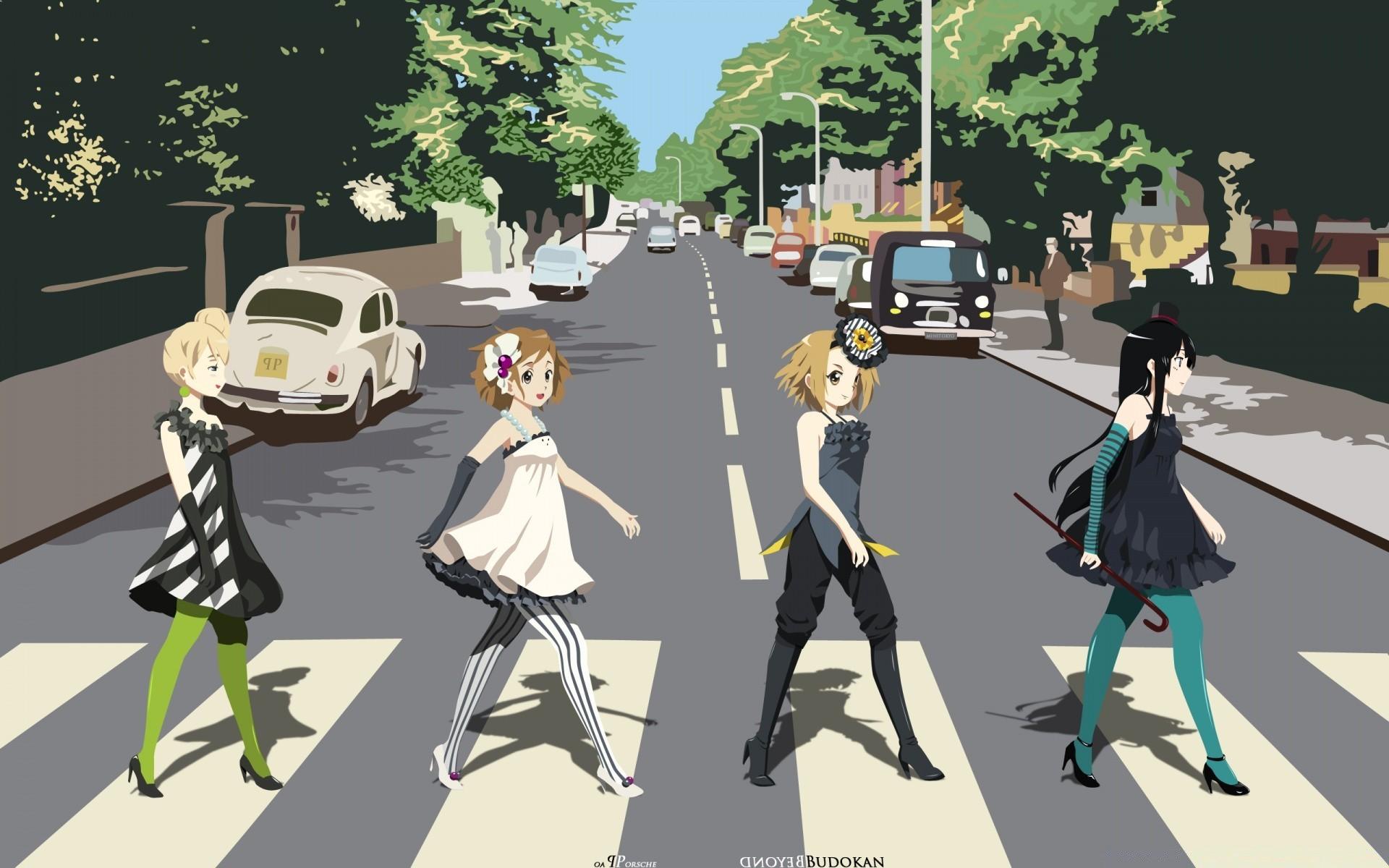 K On Yui Mio Ritsu And Tsumugi Free Wallpapers