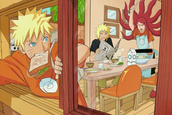 Naruto - The Uzumaki Family