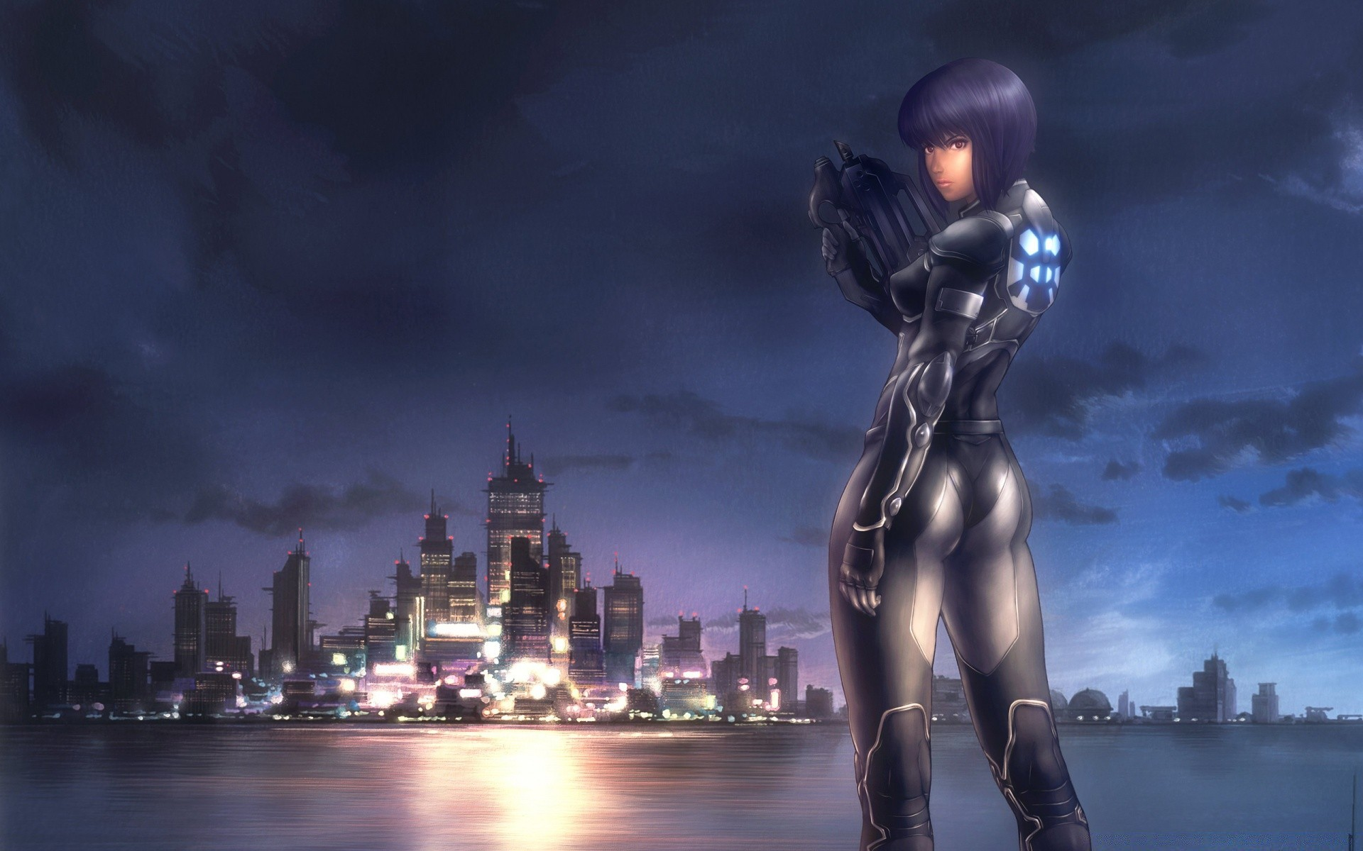 Ghost In The Shell Motoko Kusanagi Android Wallpapers For Free