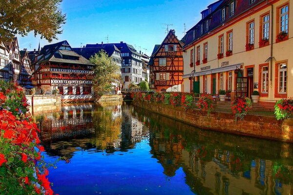france France channel river Strasbourg Strasbourg