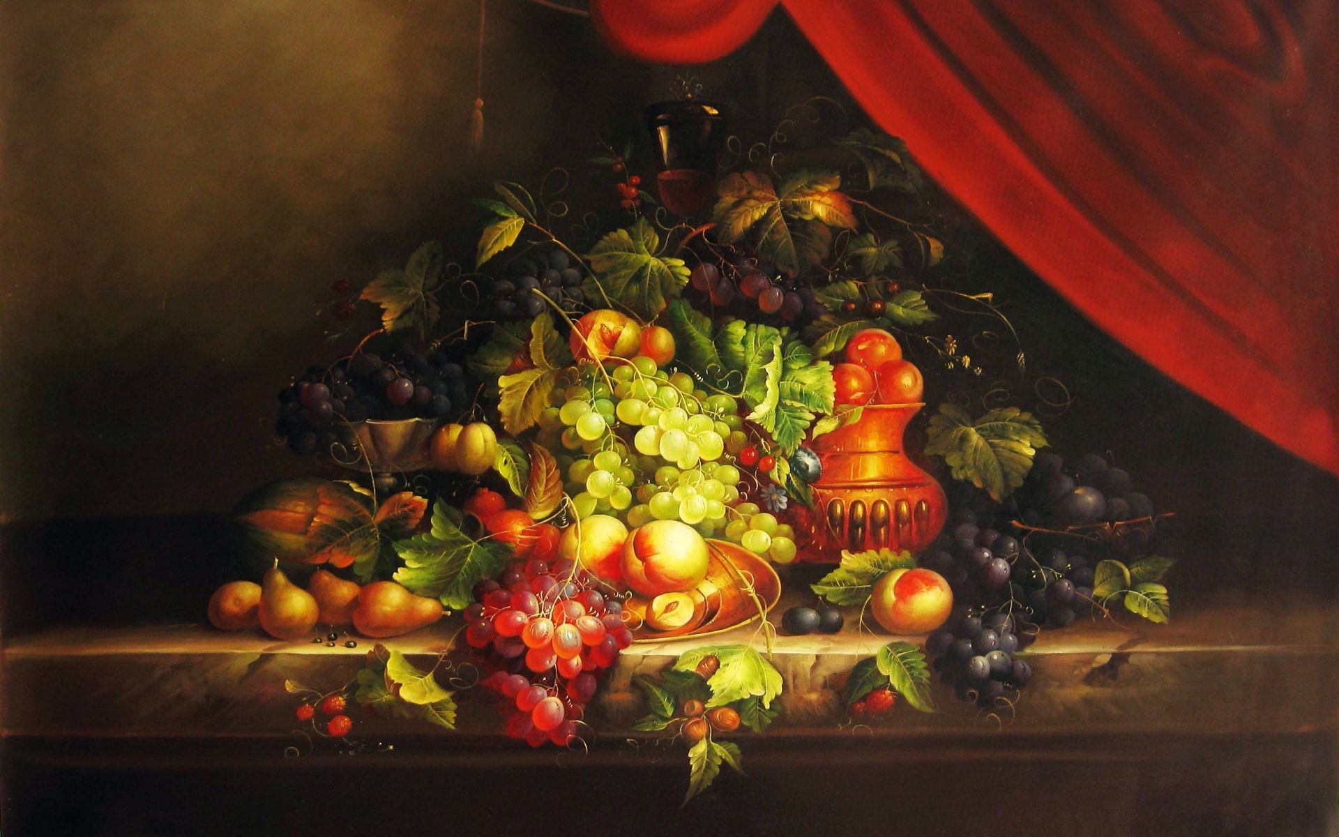 interior still life food light fruit decoration festival grow candle