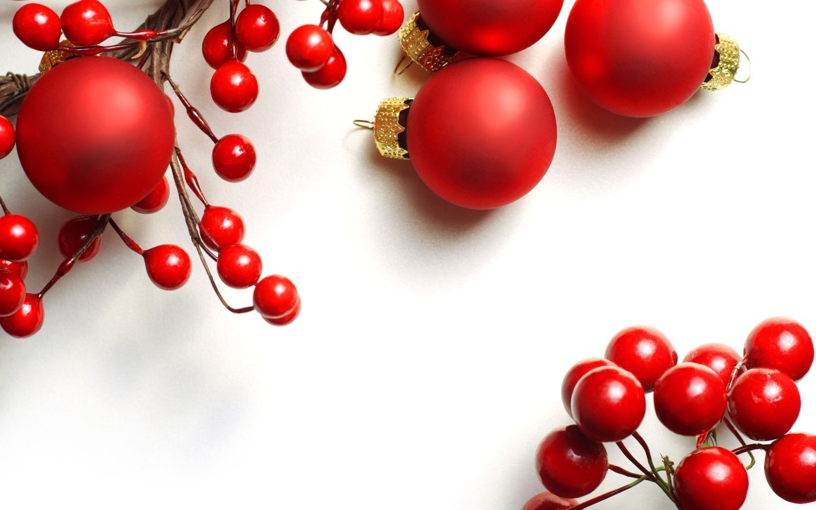 new year shining christmas winter round berry food cherry juicy decoration ball delicious fruit nutrition