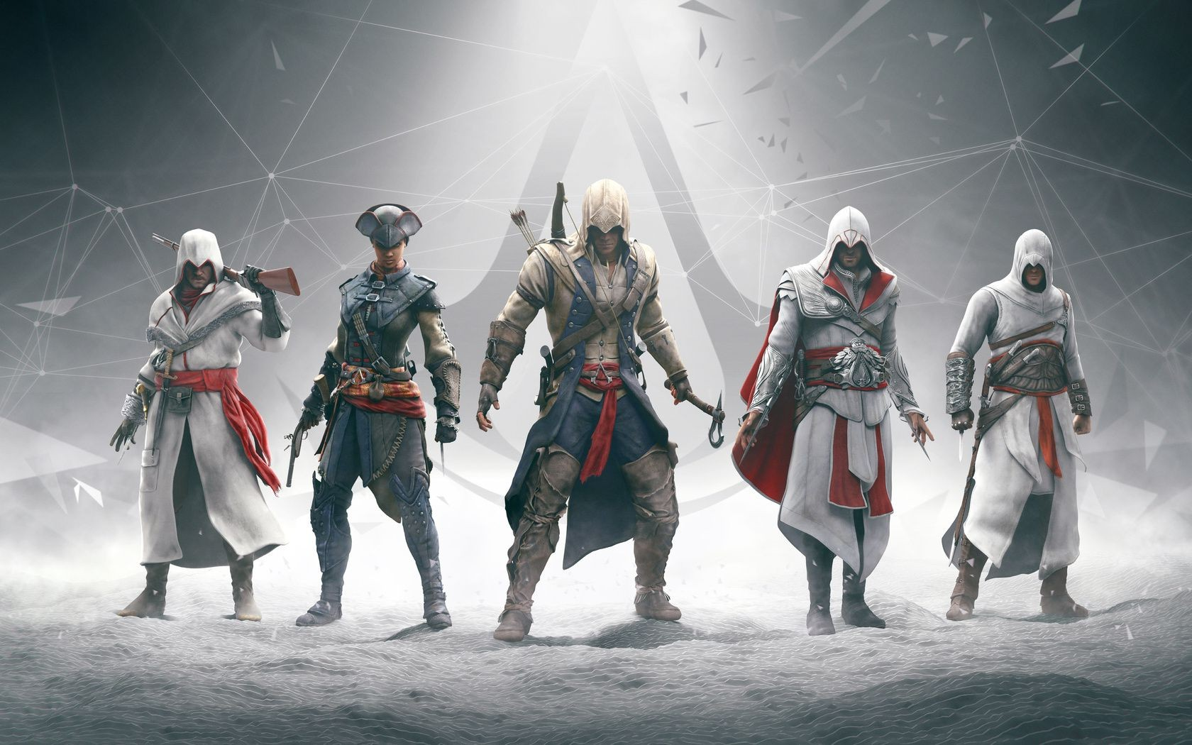 Ezio assassins creed Altair ubisoft Connor