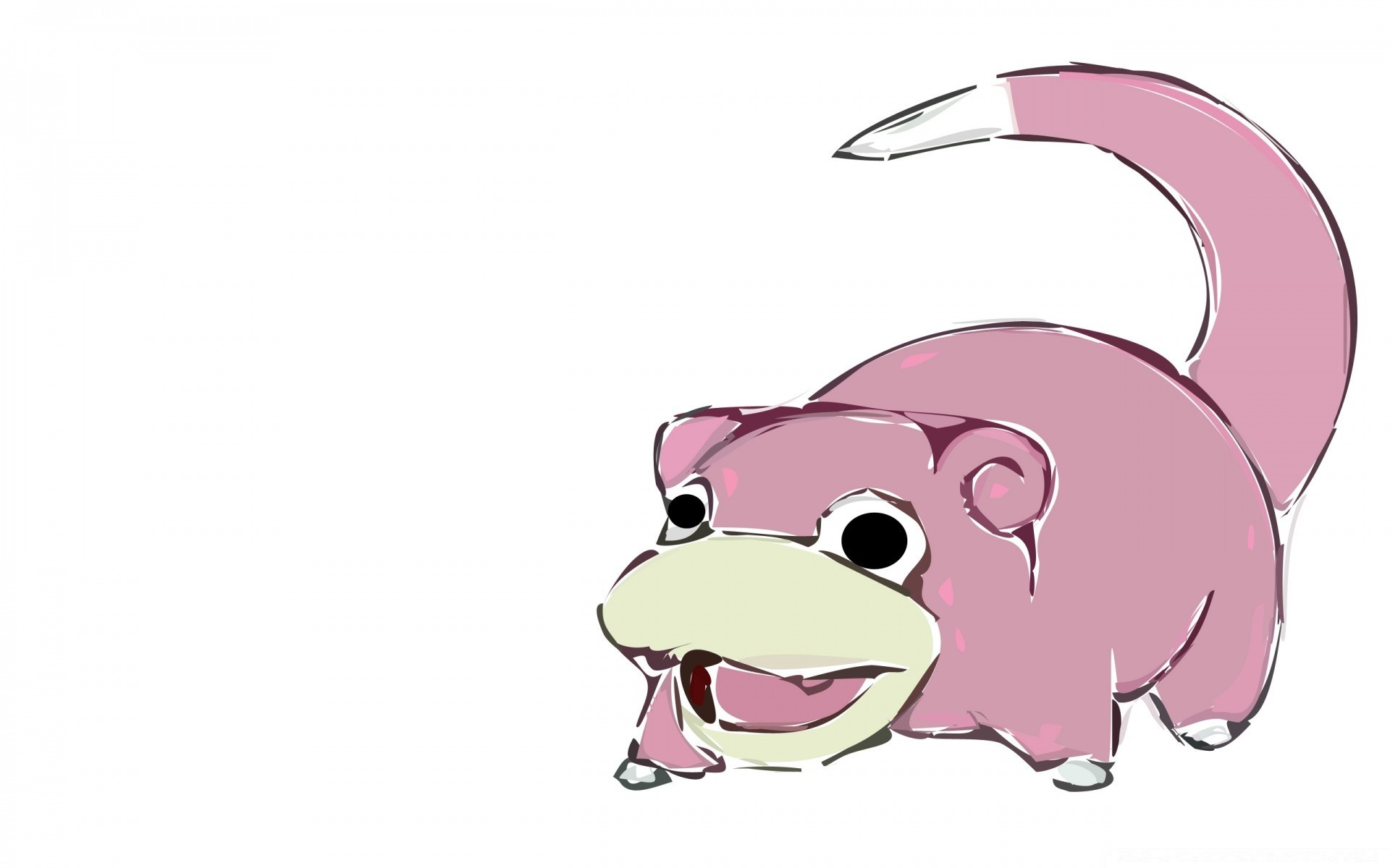 Anime Isolated Cute Sketch Funny Illustration Animal Character