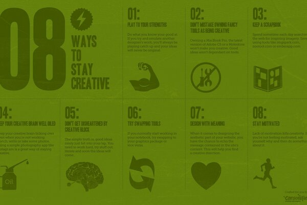 8 Ways To Stay Creative