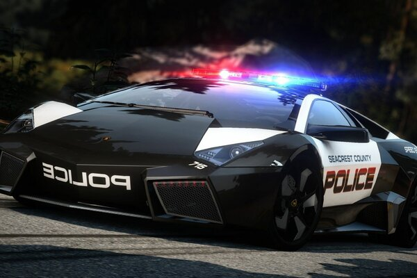 lamborghini reventon hot pursuit Need for speed road