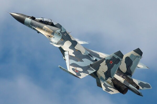 dry su-30MKM fighter