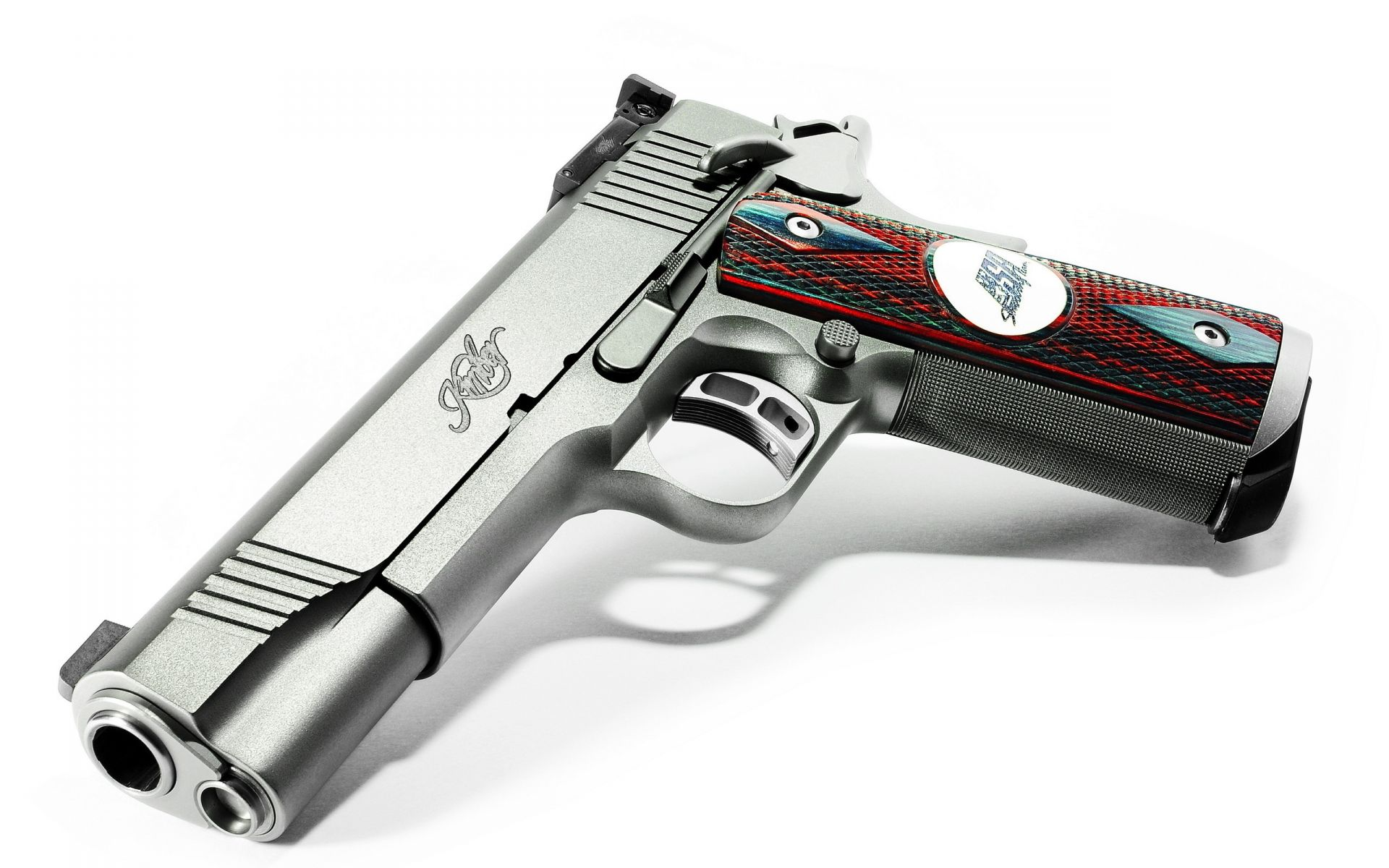 guns Kimber team match gun