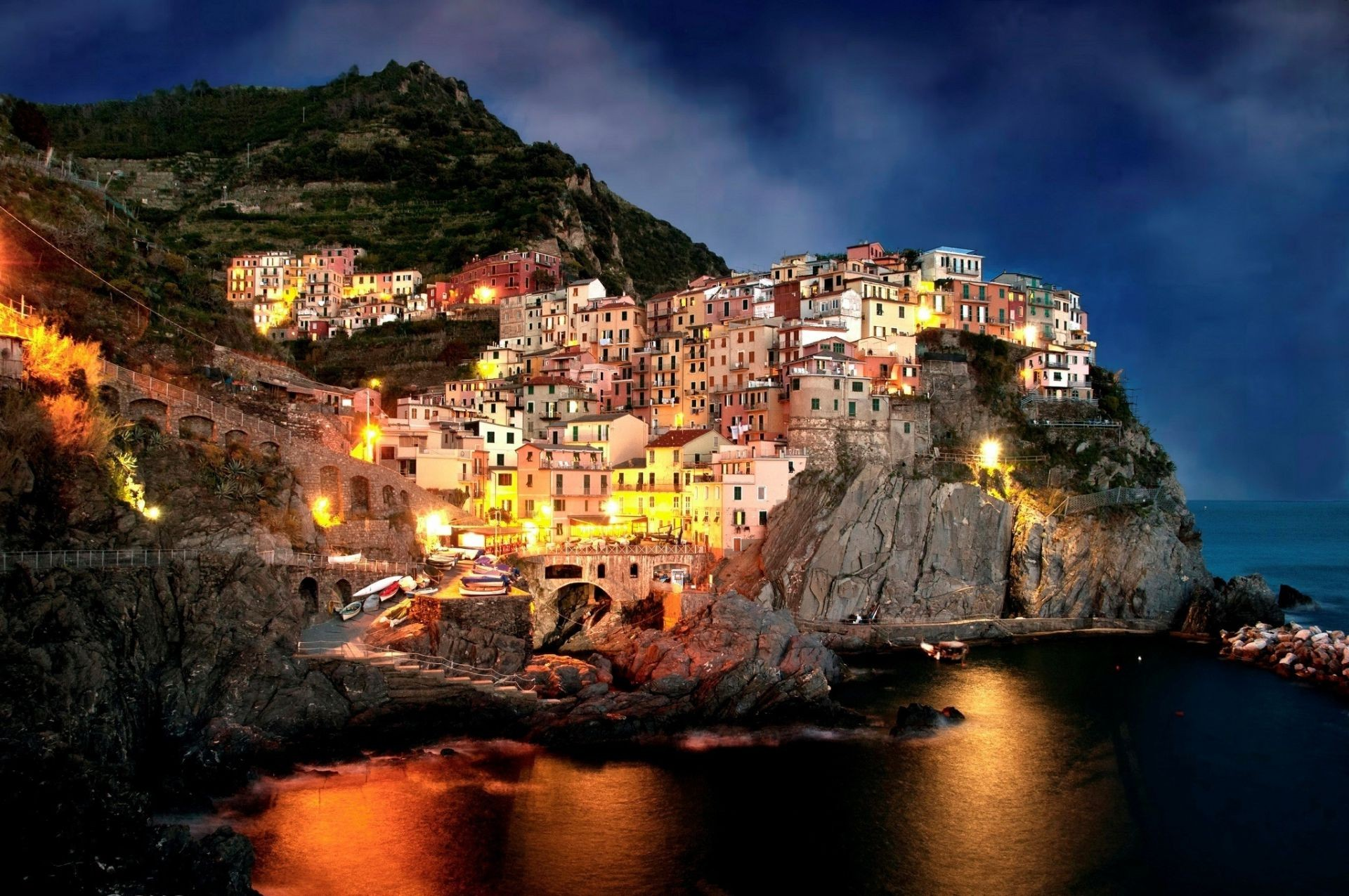 Italy Coast Amalfi Amalfi Italy Free Wallpapers