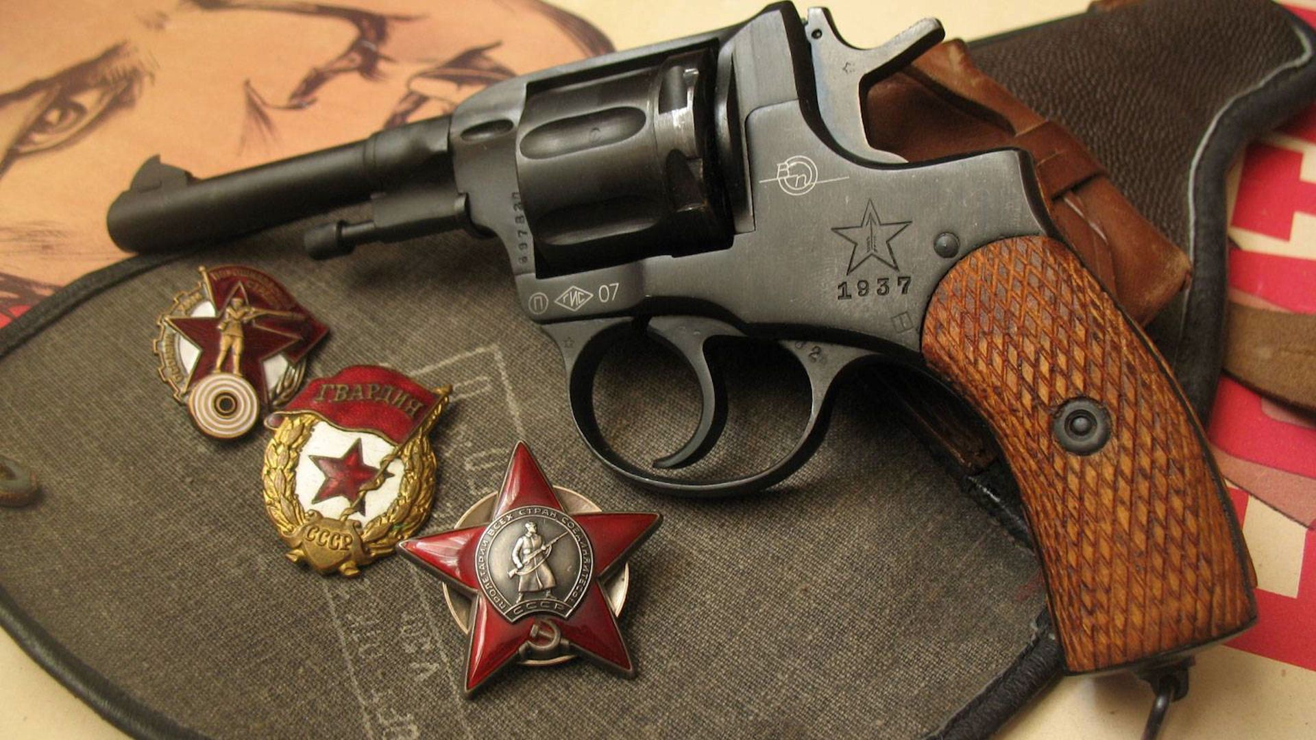 Revolver the order of the red star revolver