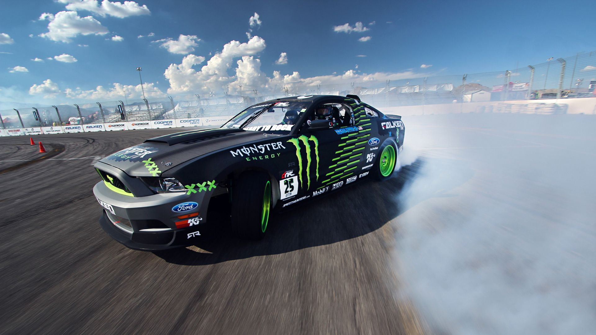 competition drift sportcar clouds Ford mustang gt smo