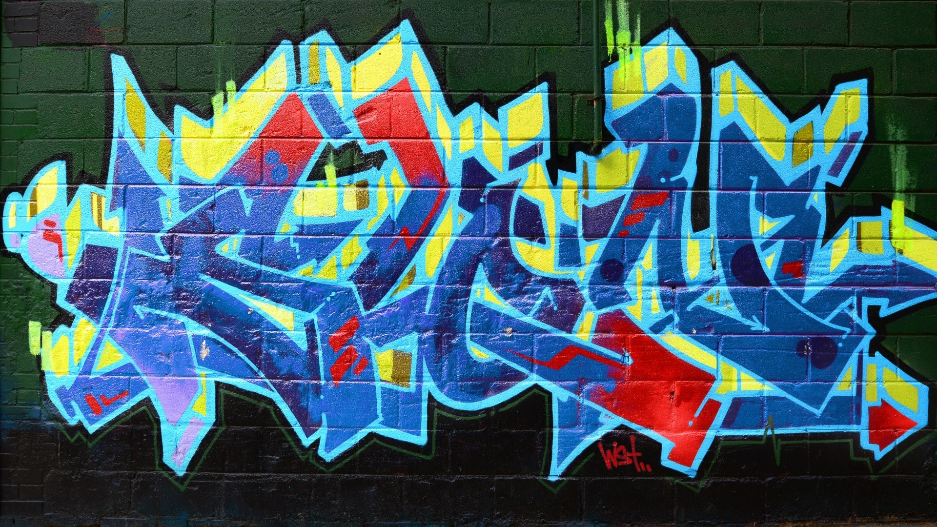 Graffiti On Wall IPhone Wallpapers For Free