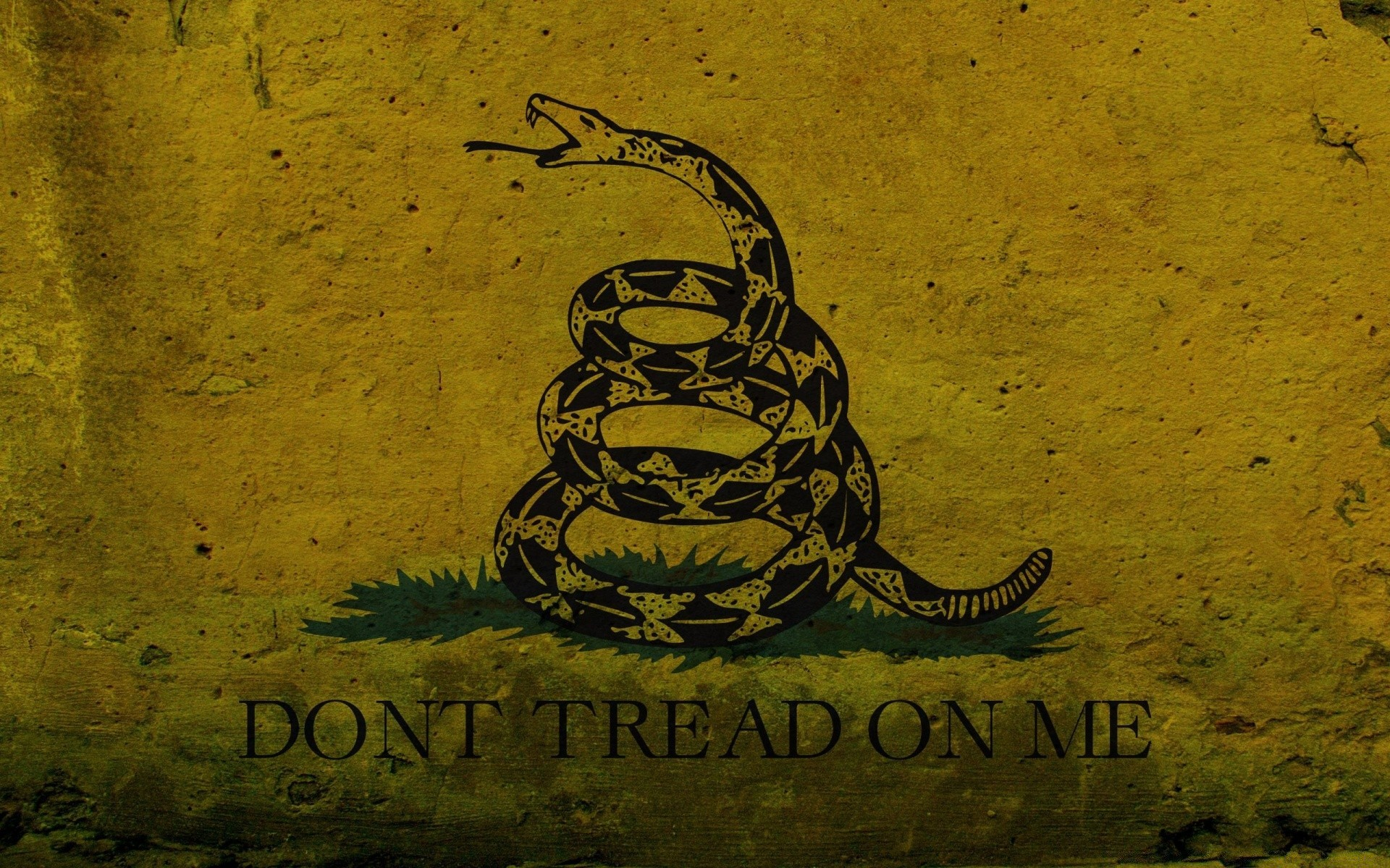Grunge Don't Tread On Me - The Gadsden Flag - Phone wallpapers