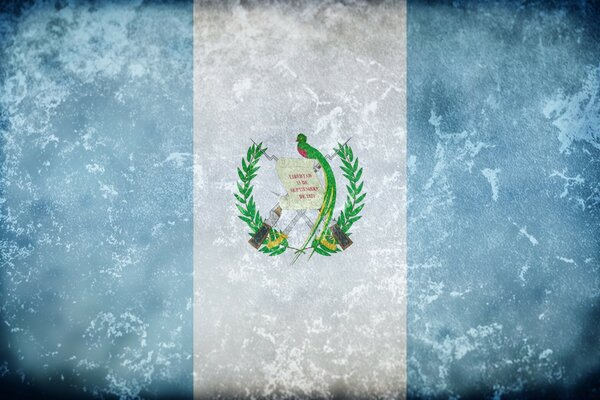 Grunge Flag Of Guatemala
