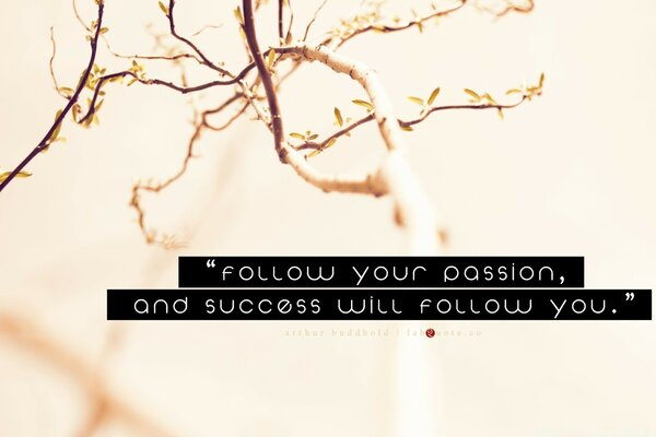 Arthur Buddhold - Success Quote