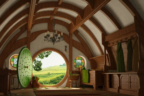 the hobbit Hobbiton the Shire middle earth