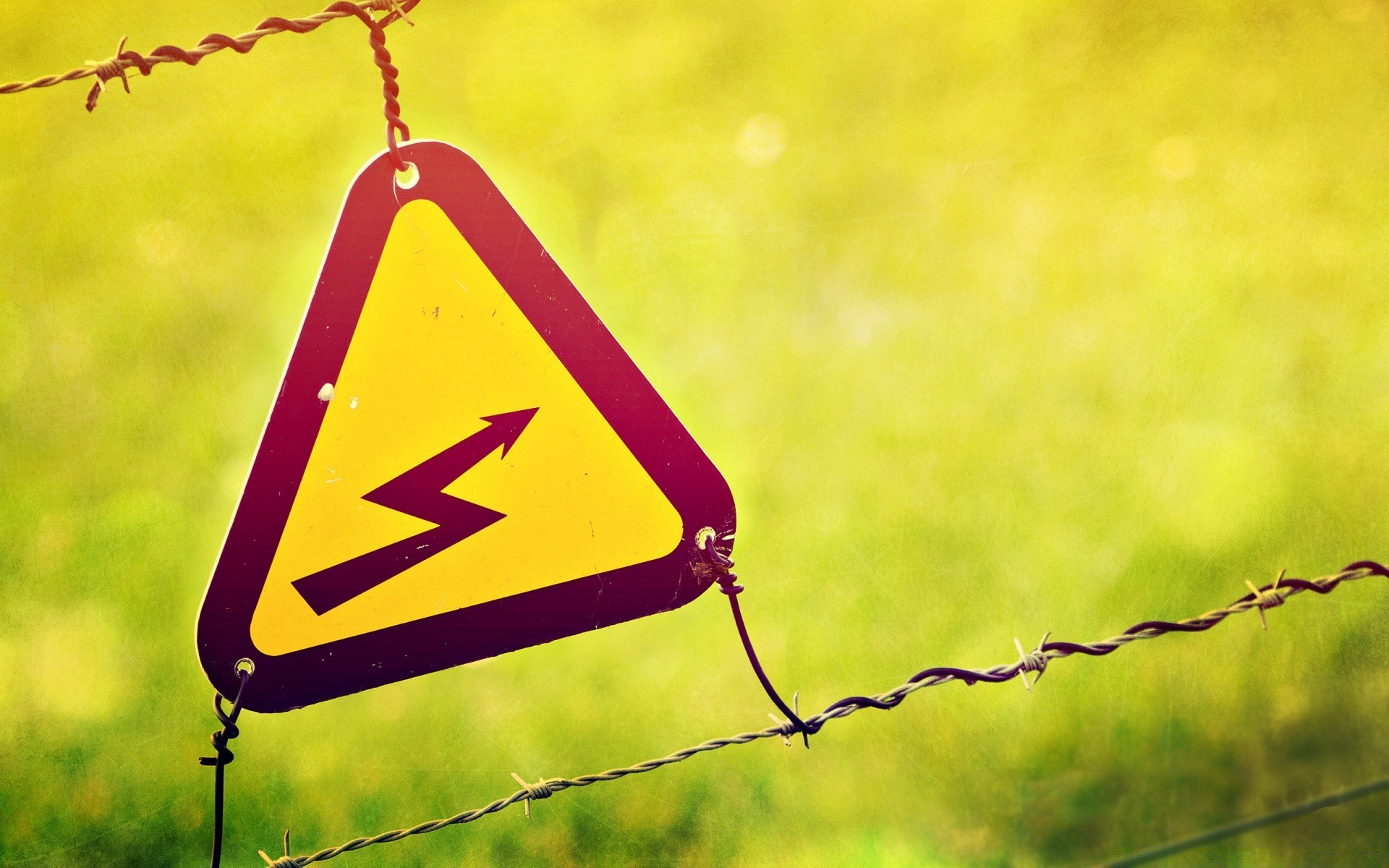 Electricity Warning Sign Free Wallpapers