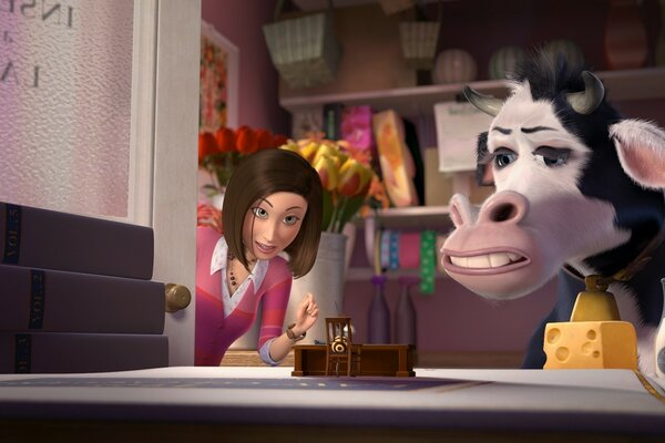 Cow Jeanette Chung Bee Movie
