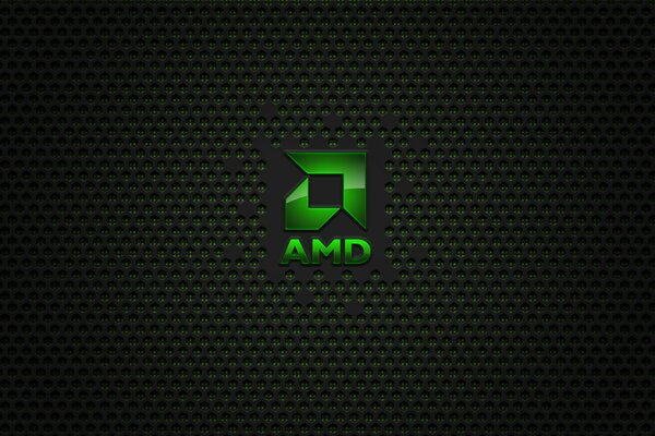 The logo of AMD