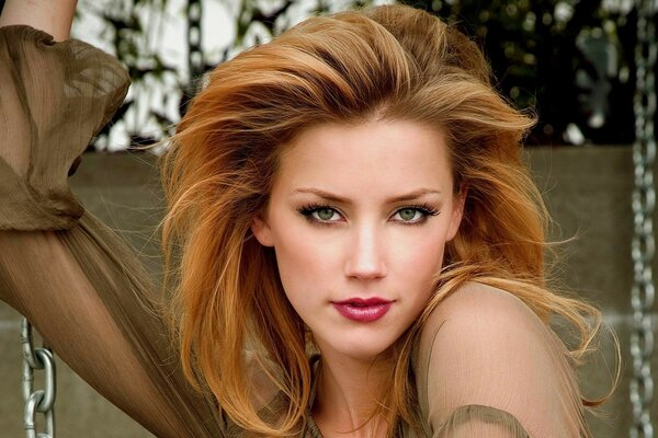 Amber Heard Pretty Face
