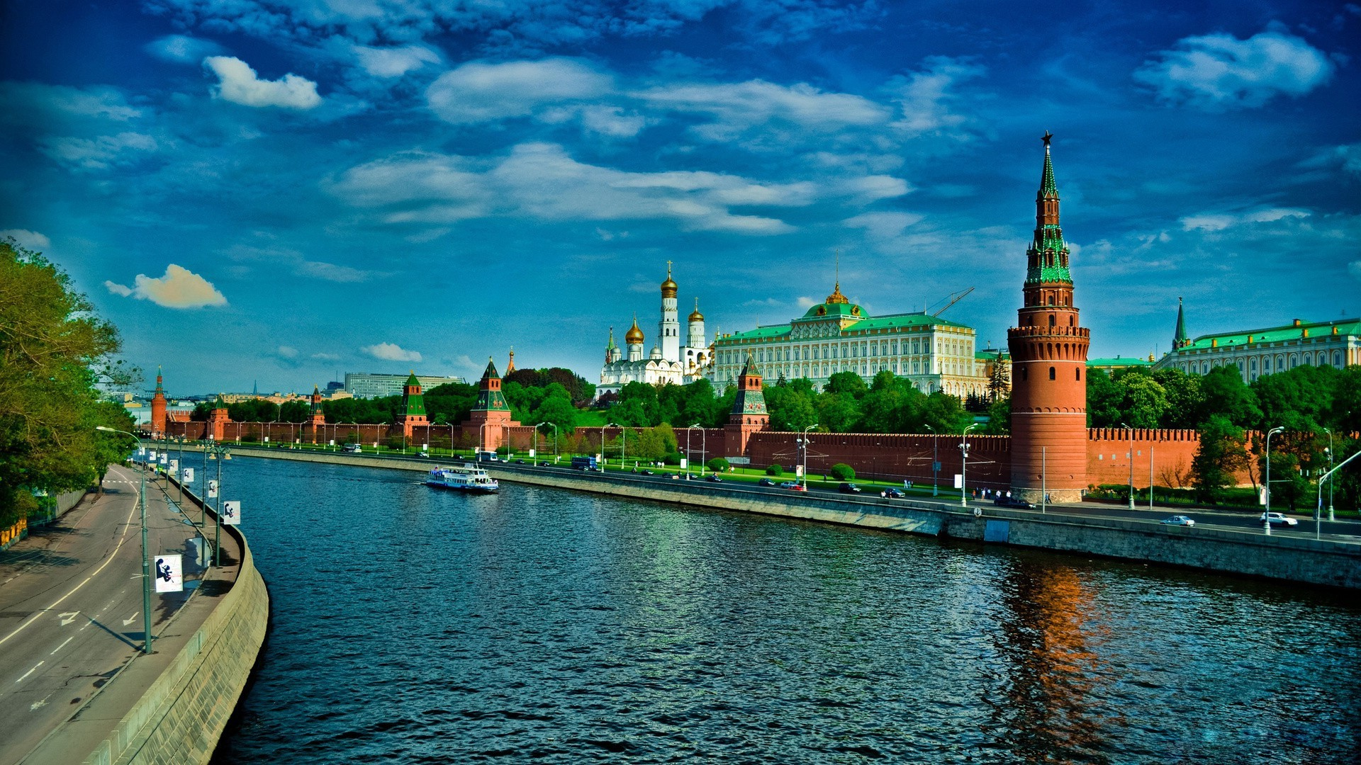 famous places architecture water river travel city building sky outdoors bridge church dusk tower reflection kremlin sunset canal evening cityscape cathedral