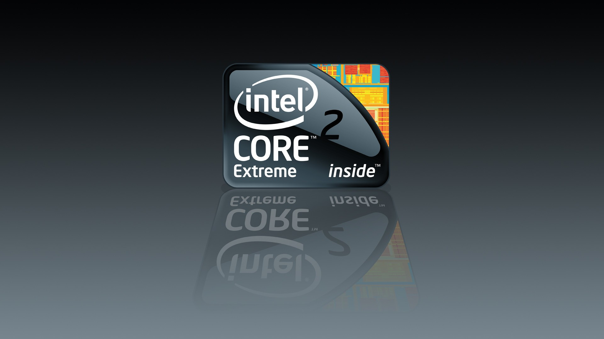 Logo Intel Core 2 Extrime
