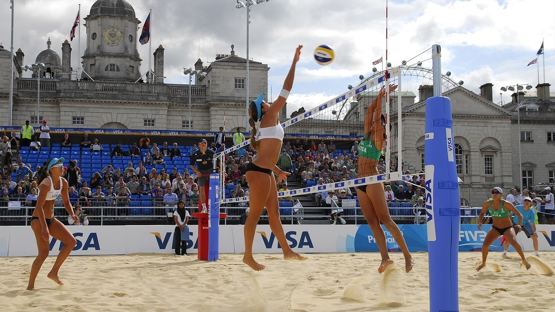 The world championship on volleyball among women