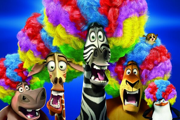 Madagascar 3 Europe s Most Wanted Circus Afro