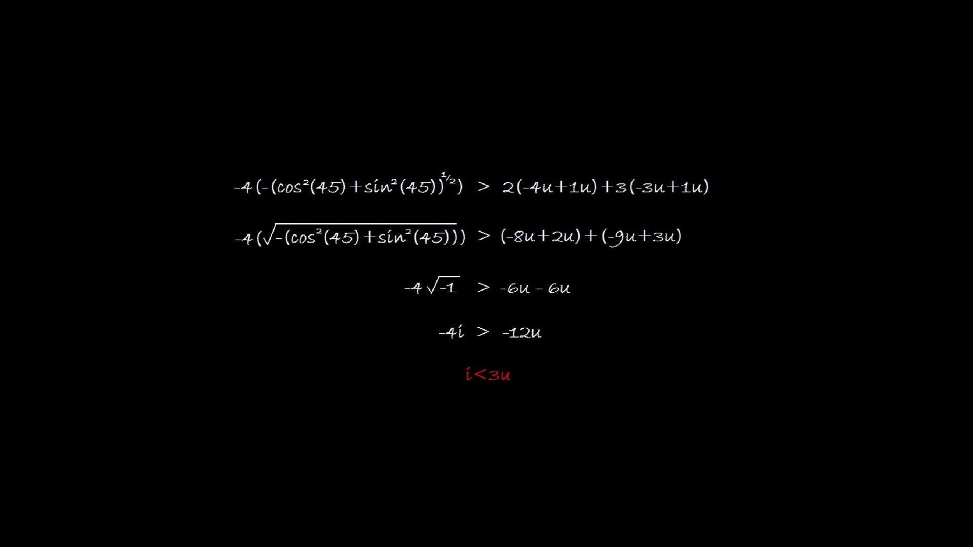 Trigonometric formula on the Board - Android wallpapers