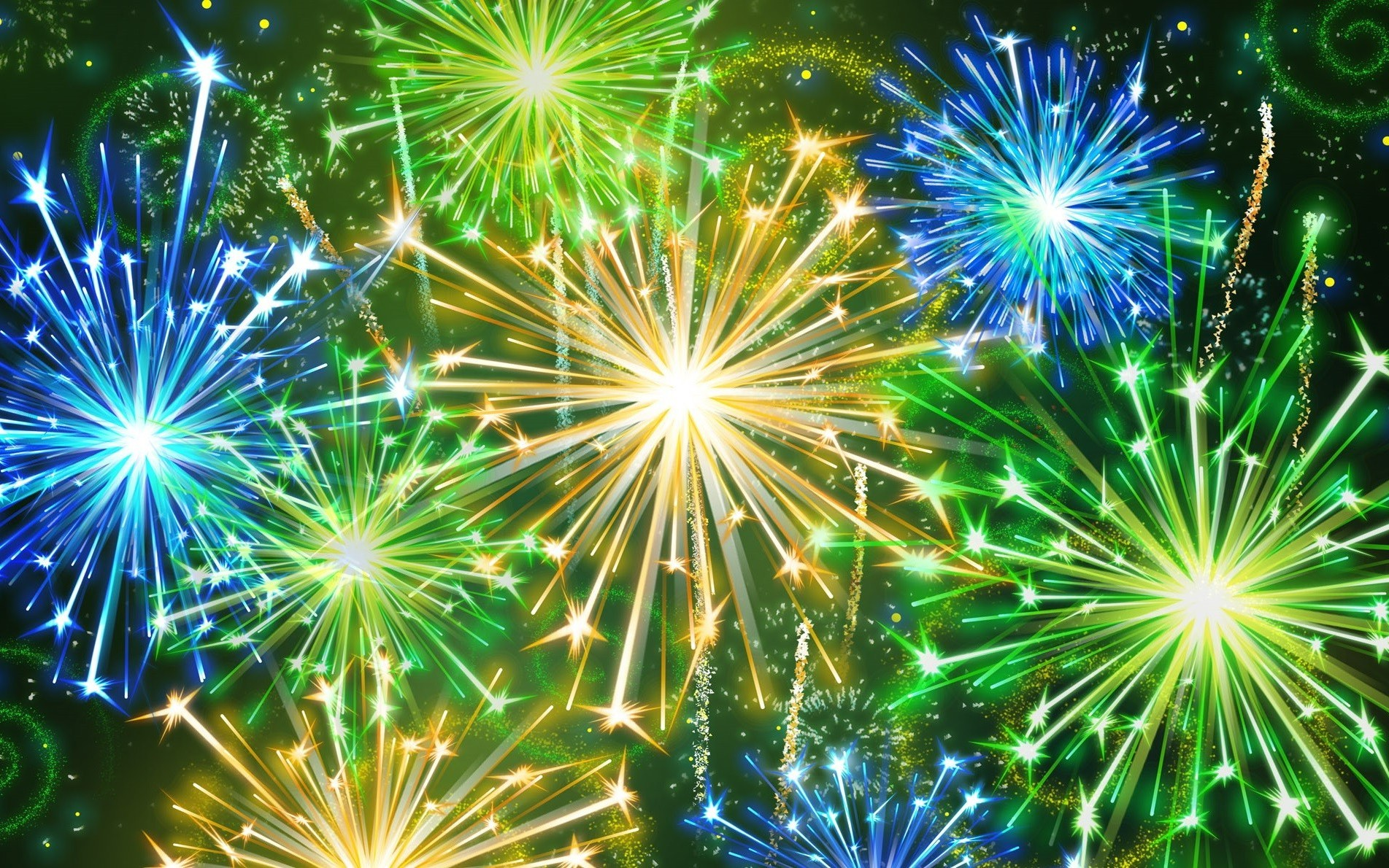 holidays fireworks bright festival explosion christmas celebration flash party sparkling abstract light flame shining eve