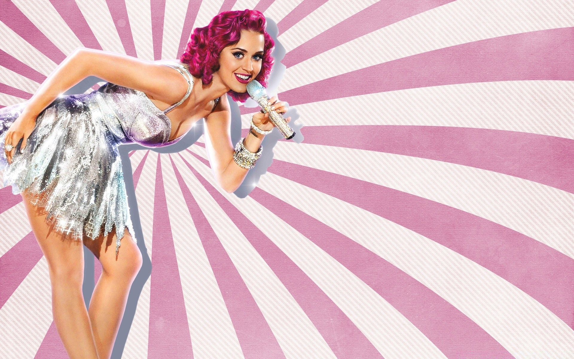 Katy Perry Pin Up Style Phone Wallpapers