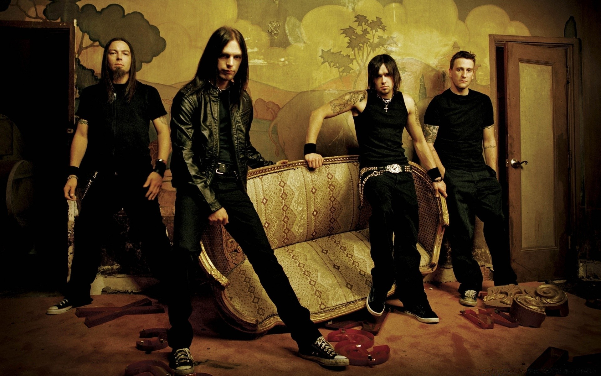 Bullet For My Valentine Phone Wallpapers