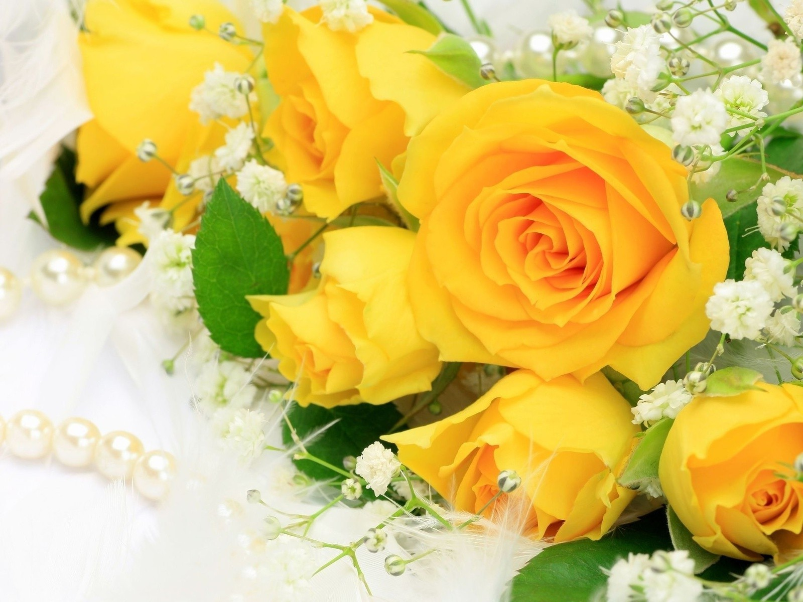A Bouquet Of Yellow Roses Phone Wallpapers