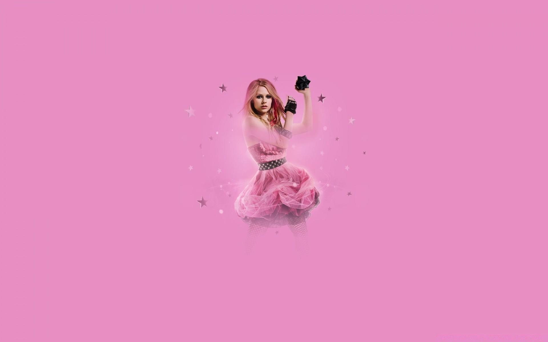 Avril Lavigne Black Star Phone Wallpapers