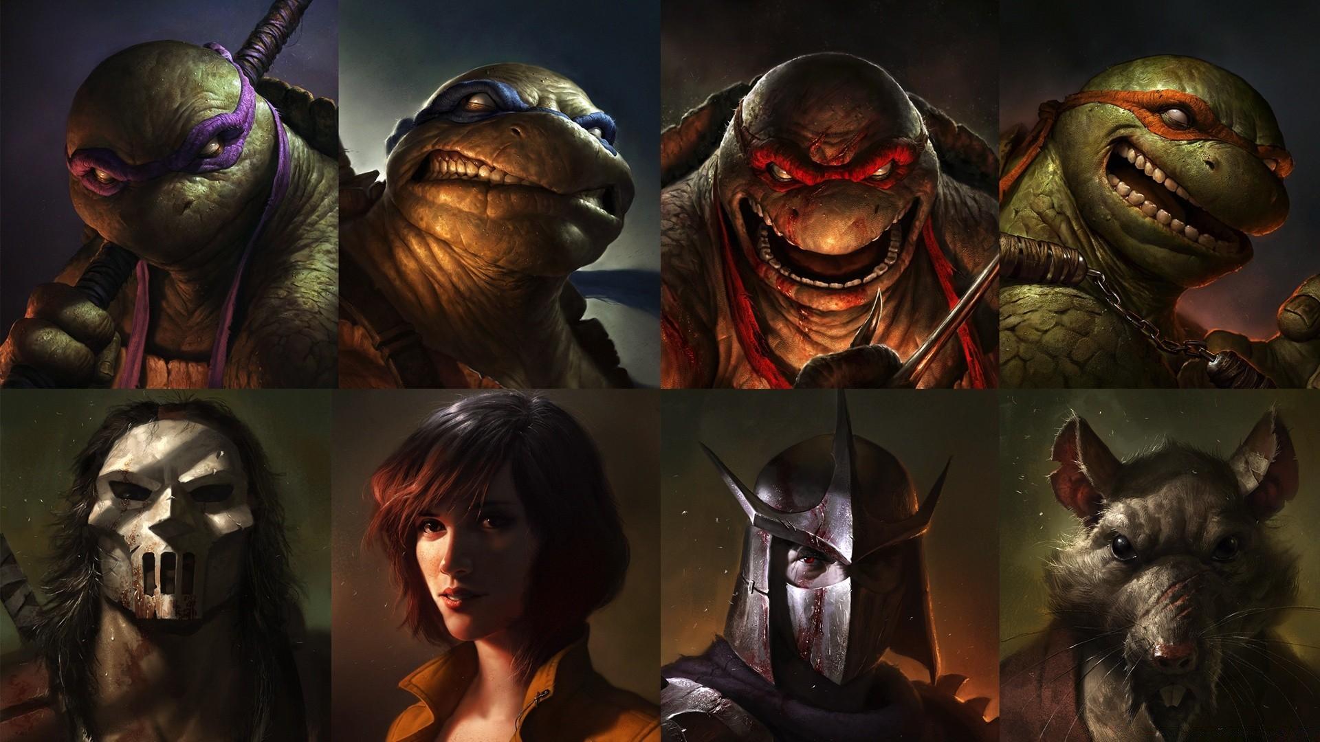 Teenage Mutant Ninja Turtles 2012 Art Android Wallpapers For Free