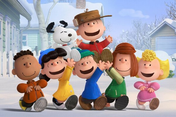 The Peanuts Gang 2015 Movie