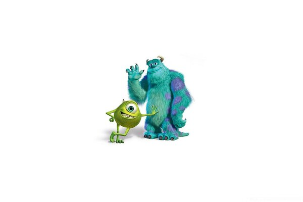 Monsters Inc Sulley And Mike