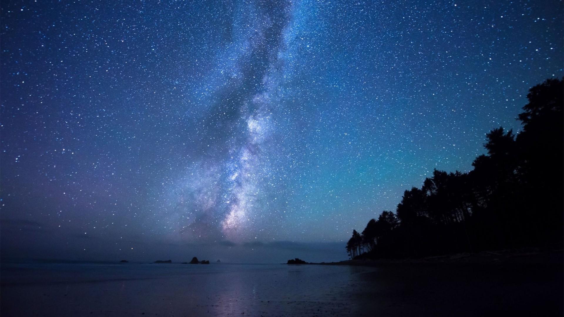 Картинки звездное небо фото