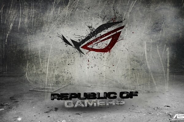 Asus Republic Of Gamers Background