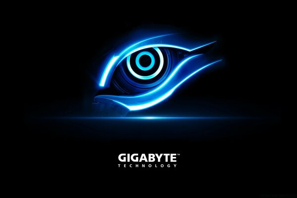 Gigabyte Blue Eye