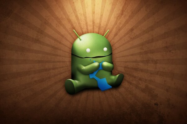 Funny Android Robot