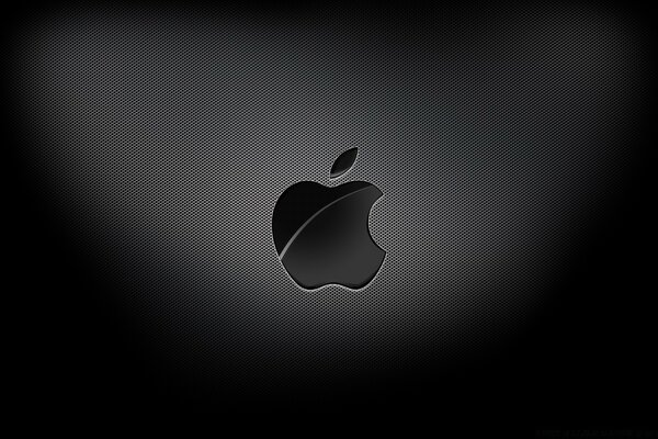 Apple Black Background